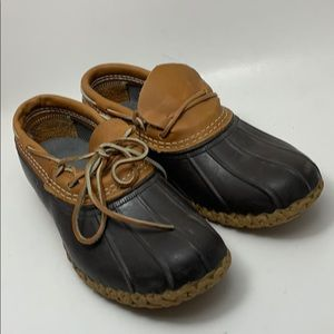 LL Bean Dick Shoes Size 8